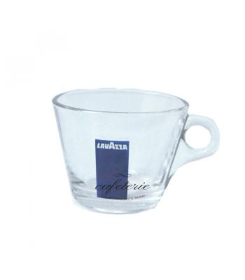 Ceasca si farfurie incolora Lavazza, pentru cappuccino