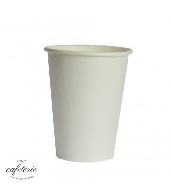 pahar alb carton 12 oz, 50 bucati/set