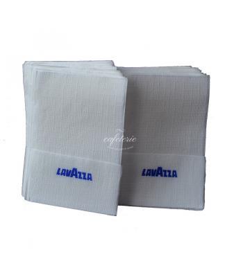 Servetele inscriptionate Lavazza , pachet dublu .
