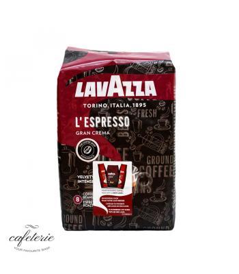 L'espresso Gran Crema, cafea boabe Lavazza, 1 kg