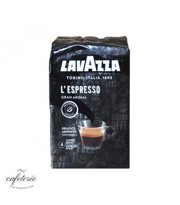 L'Espresso Gran Aroma, cafea boabe Lavazza, 1 kg, ambalaj nou