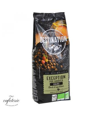 Exception Pur Arabica, cafea boabe Destination, 250g