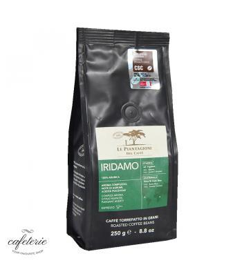 Iridamo, cafea boabe Le piantagioni del caffe, 250gr