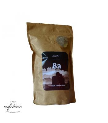 8a, Chocolat Blend, cafea boabe proaspat prajita Boero, 350 grame