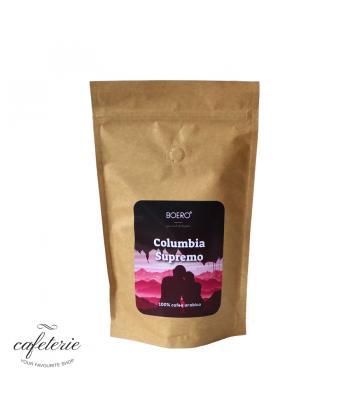 Columbia supremo, cafea boabe proaspat prajita Boero, 250 gr