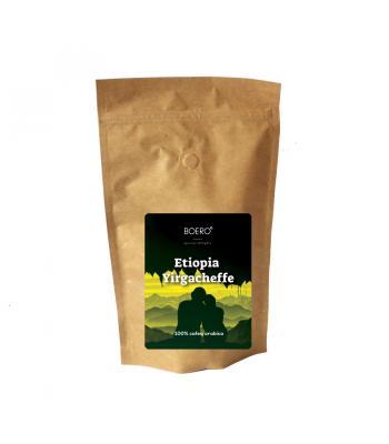 Etiopia Yirgacheffe, cafea boabe proaspat prajita Boero, 250 gr