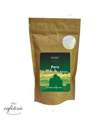 Peru Altura, cafea boabe proaspat prajita Boero 250 grame
