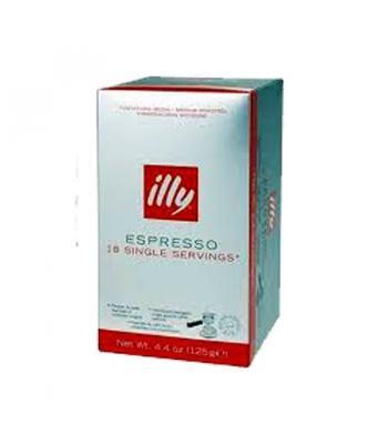 Illy,  cafea-paduri de hartie (cialde), cutie 18 bucati