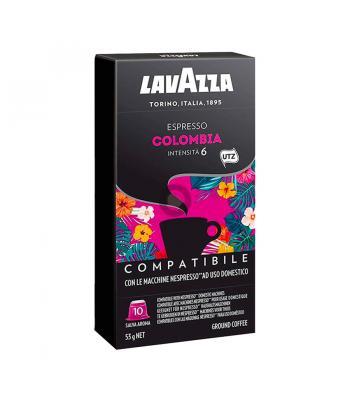 Colombia, 10 capsule Lavazza, compatibile Nespresso