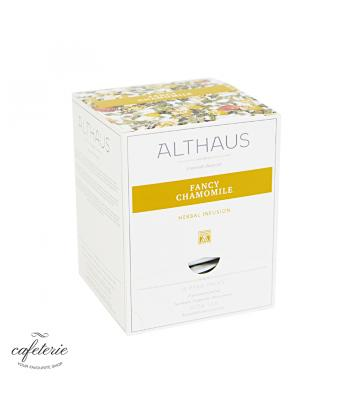 Ceai piramida Althaus, Fancy Chamomile, Pyra Pack