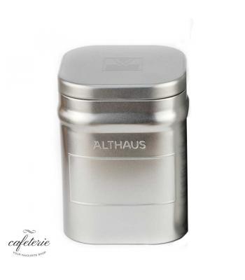 Cutie metalica pentru pastrat ceai vrac Althaus, 250 grame