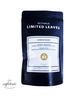 Loose tea, Lemon Balm, ceai vrac Althaus Limited Leaves, 30g