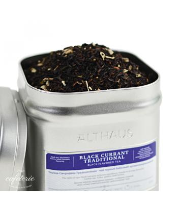 Loose tea, Black Currant Traditional, ceai vrac Althaus