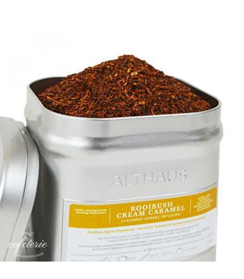 Loose tea, Rooibush Cream Caramel, ceai vrac Althaus, 250 grame