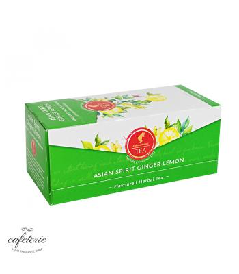 Asian Spirit Ginger Lemon, ceai Julius Meinl, 25 plicuri