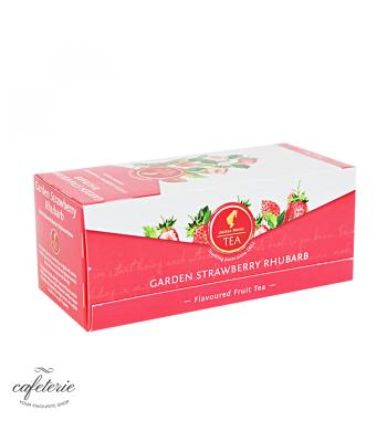 Garden Strawberry Rhubarb, ceai Julius Meinl, 25 plicuri