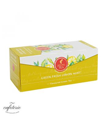 Green Fresh Lemon Mint, ceai Julius Meinl, 25 plicuri