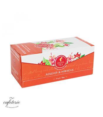 Rosehip & Hibiscus, ceai Julius Meinl, 25 plicuri