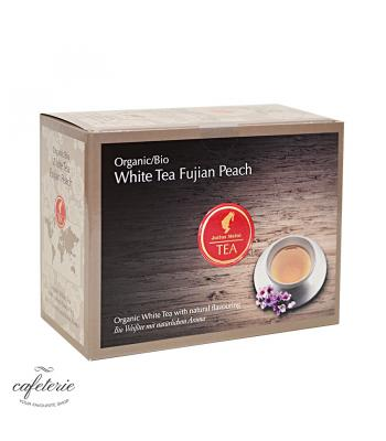 White Tea Fujian Peach, ceai organic Julius Meinl, big bag