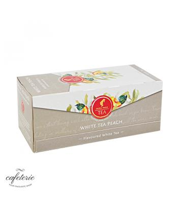 White Tea Peach, ceai Julius Meinl, 25 plicuri