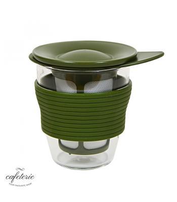 Hario, pahar de ceai cu infuzor, ~200 ml